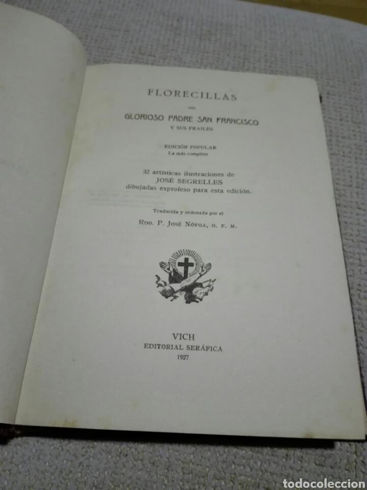 Libros antiguos: FLORECILLAS DE SAN FRANCISCO. BIBLIOTECA FRANCISCANA, AÑO 1926. ILUSTRACIONES DE JOSÉ SEGRELLES. - Foto 2 - 148862369