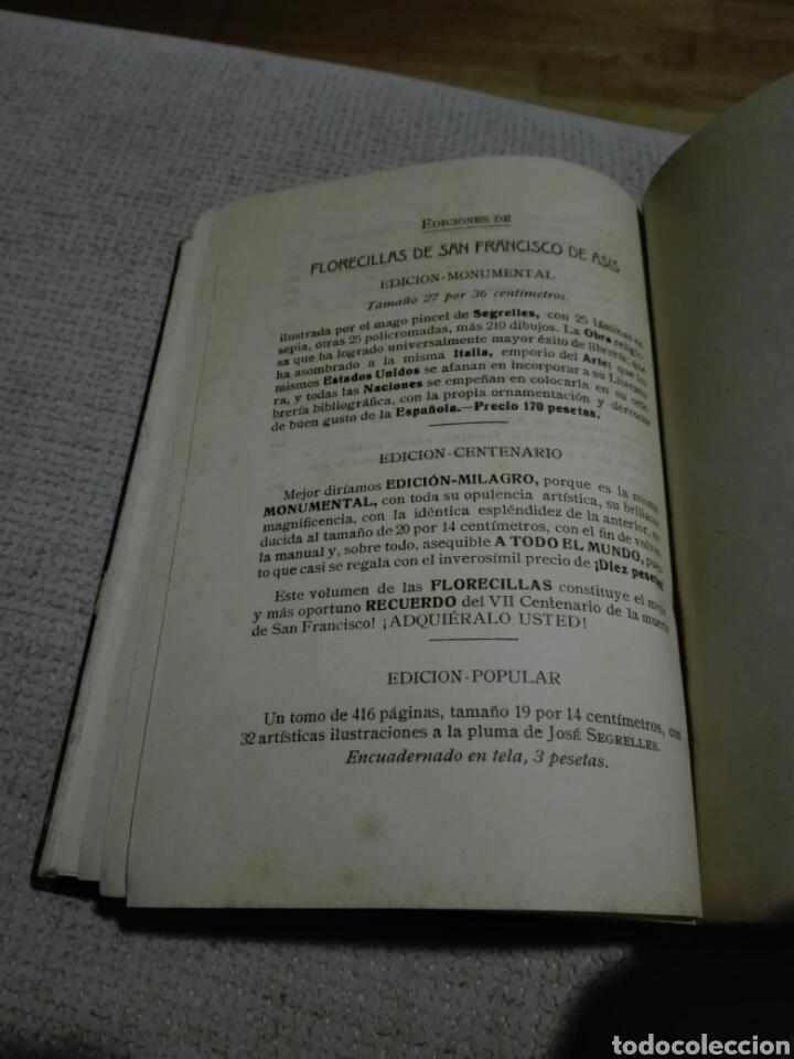 Libros antiguos: FLORECILLAS DE SAN FRANCISCO. BIBLIOTECA FRANCISCANA, AÑO 1926. ILUSTRACIONES DE JOSÉ SEGRELLES. - Foto 3 - 148862369