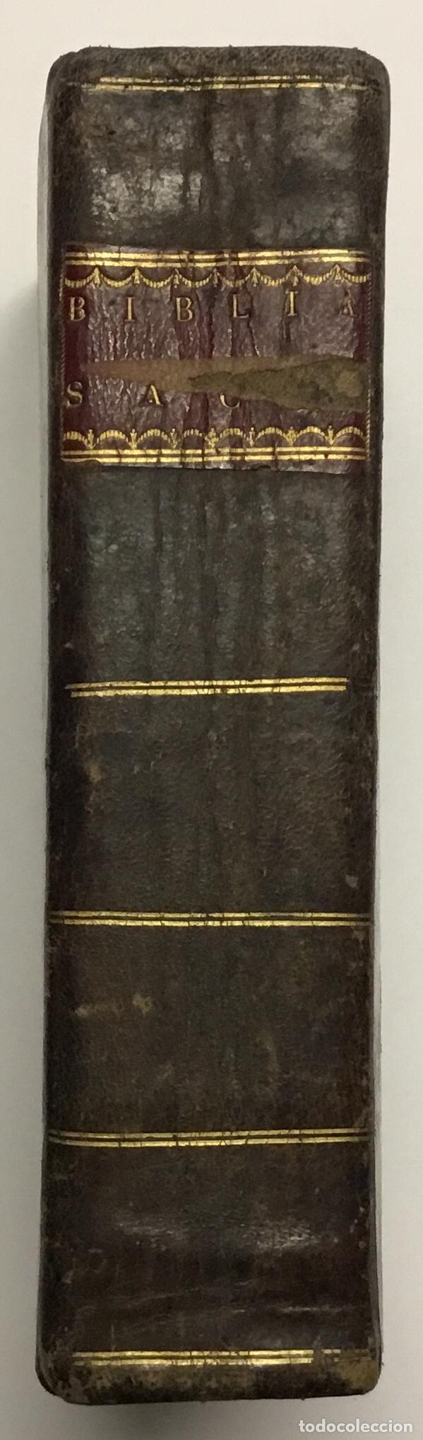 Libros antiguos: BIBLIA SACRA VULGATAE EDITIONIS, SIXTI V. ET CLEMENTIS VIII. - Foto 4 - 123139907