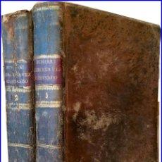 Libros antiguos: AÑO 1799: MADRID. DIRECTORIO MORAL DEL PADRE FRANCISCO ECHARRI. 2 TOMOS DEL SIGLO XVIII.. Lote 150257274