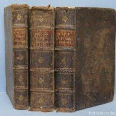 Libros antiguos: 1725.- MYSTICA CIUDAD DE DIOS. SOR MARIA JESUS DE AGREDA. 3 TOMOS. Lote 150689450