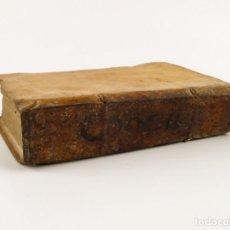 Libros antiguos: CONCILII TRIDENTINI- ANTIGUO LIBRO TAPAS DE PERGAMINO- AÑO 1.680. Lote 150758926