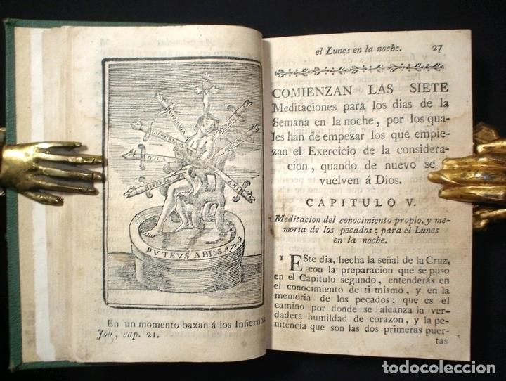 LIBRO DE LA ORACIÓN Y LA MEDITACIÓN, 1783. FRAY LUIS DE GRANADA. NUMEROSOS GRABADOS (Libros Antiguos, Raros y Curiosos - Religión)