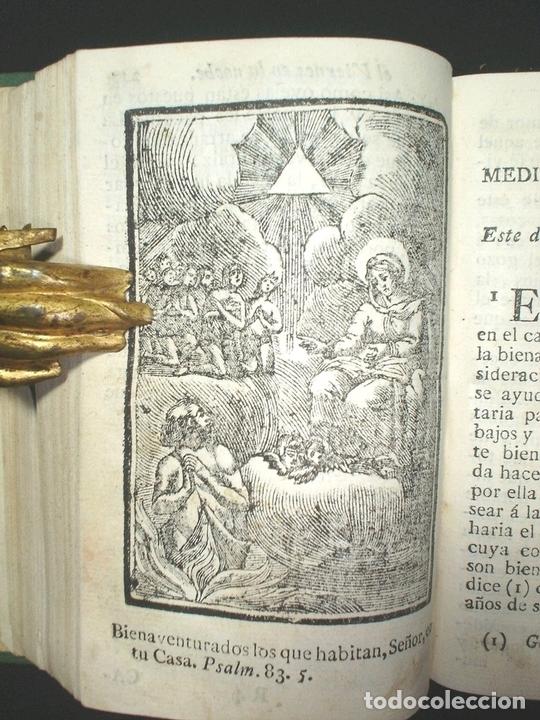 Libros antiguos: Libro de la oración y la meditación, 1783. Fray Luis de Granada. Numerosos grabados - Foto 4 - 150825114