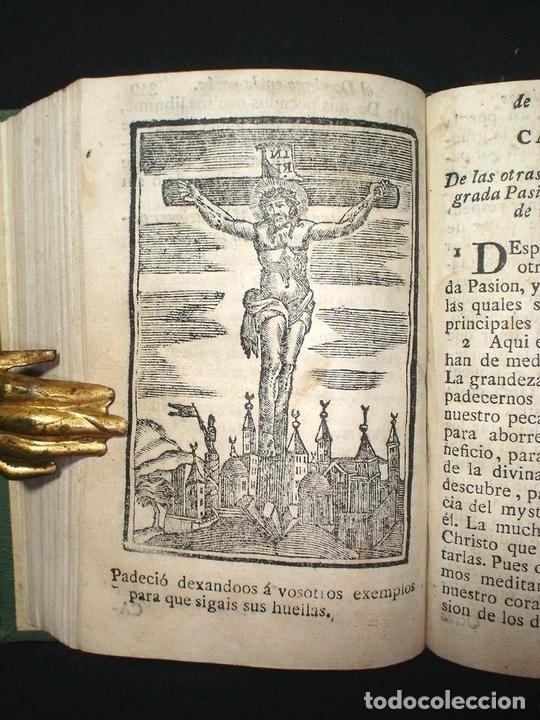 Libros antiguos: Libro de la oración y la meditación, 1783. Fray Luis de Granada. Numerosos grabados - Foto 7 - 150825114