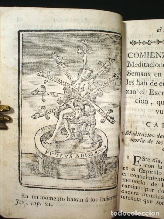 Libros antiguos: Libro de la oración y la meditación, 1783. Fray Luis de Granada. Numerosos grabados - Foto 16 - 150825114