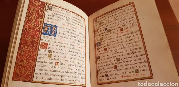 Libros antiguos: LIBRO DE HORAS DE FELIPE II con el libro estudio. - Foto 3 - 151043849