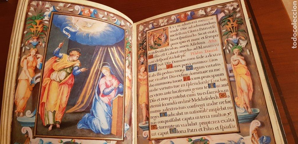 Libros antiguos: LIBRO DE HORAS DE FELIPE II con el libro estudio. - Foto 4 - 151043849