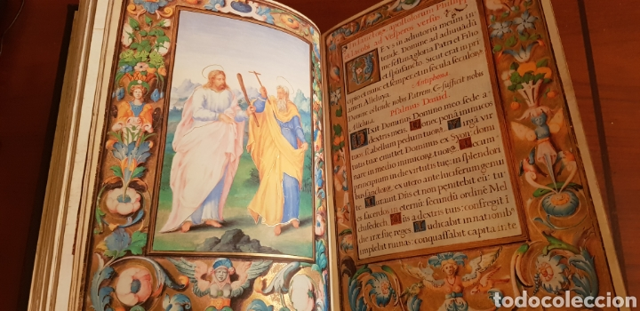 Libros antiguos: LIBRO DE HORAS DE FELIPE II con el libro estudio. - Foto 5 - 151043849