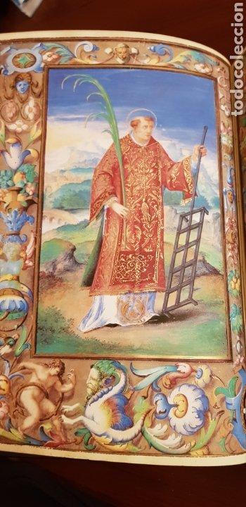 Libros antiguos: LIBRO DE HORAS DE FELIPE II con el libro estudio. - Foto 6 - 151043849