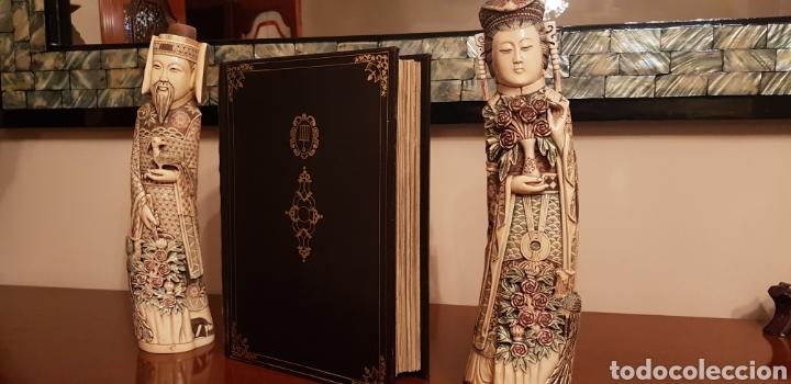 Libros antiguos: LIBRO DE HORAS DE FELIPE II con el libro estudio. - Foto 10 - 151043849