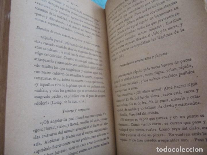 Libros antiguos: MANUAL DE RETÓRICA SAGRADA. 1886. FCO. DE PAULA MARURI. - Foto 12 - 151245362