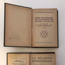 Alte Bücher - Lote de 2 libros religiosos - 151378626