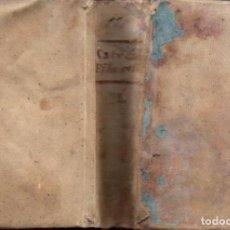 Libros antiguos: FELLER : CATECISMO FILOSÓFICO I Y II . DOS TOMOS EN UN VOLUMEN (H. DE LA V. PLA, 1849) PERGAMINO. Lote 151481178