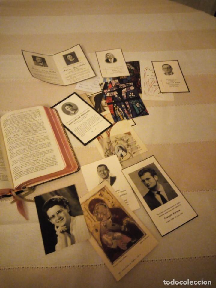 Libros antiguos: petit missel quotidien 1951,con estampas incluidas y esquelas,frances. - Foto 5 - 151883618