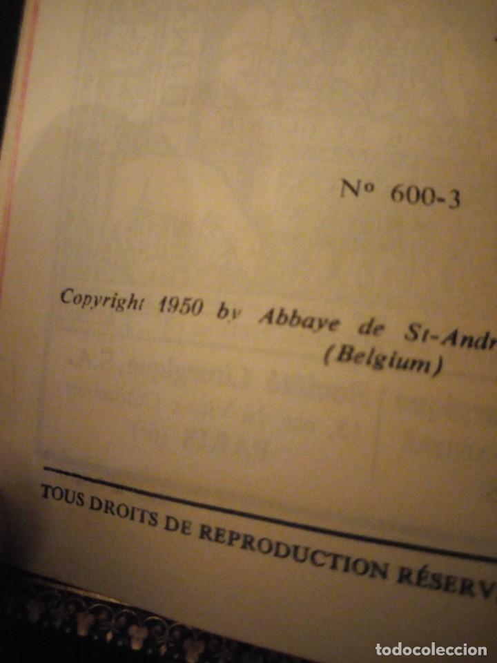 Libros antiguos: petit missel quotidien 1951,con estampas incluidas y esquelas,frances. - Foto 6 - 151883618