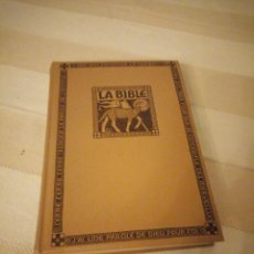 Libros antiguos: LA BIBLE VERSION SYNODABLE EDITION DE L´ANNE 1948. Lote 151884590