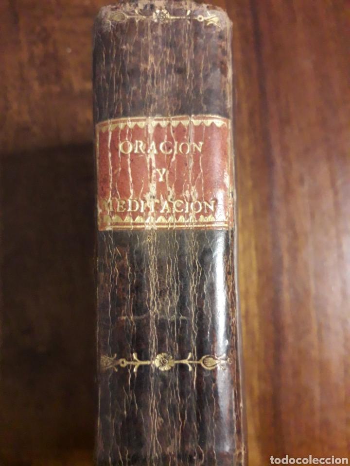 ORACIÓN Y MEDITACIÓN (Libros Antiguos, Raros y Curiosos - Religión)