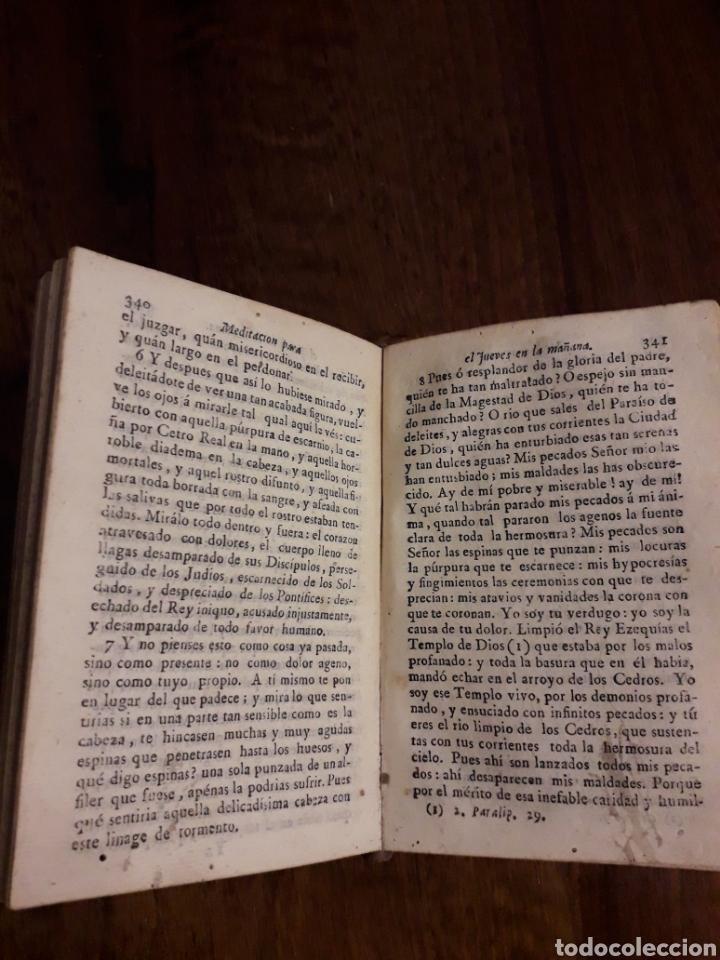 Libros antiguos: ORACIÓN Y MEDITACIÓN - Foto 3 - 152034530