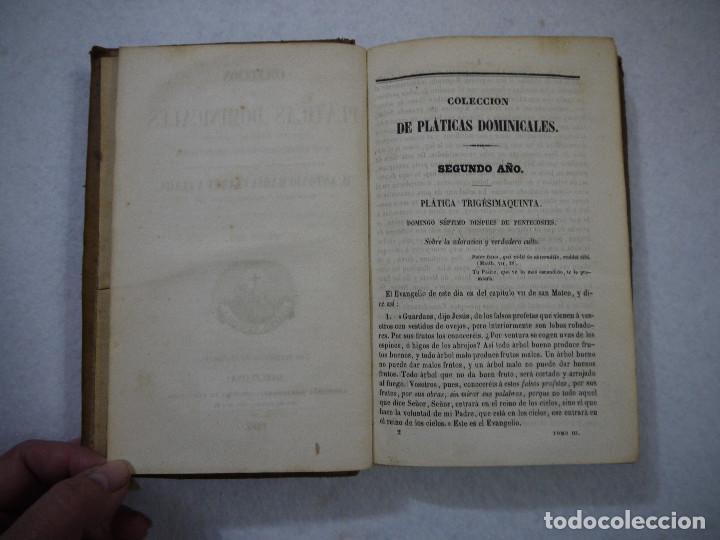 Libros antiguos: COLECCIÓN DE PLÁTICAS DOMINICALES. TOMO III - D. ANTONIO MARIA CLARET I CLARÁ - 1862 - Foto 3 - 152344102