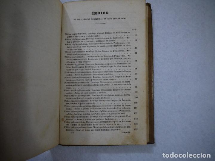 Libros antiguos: COLECCIÓN DE PLÁTICAS DOMINICALES. TOMO III - D. ANTONIO MARIA CLARET I CLARÁ - 1862 - Foto 5 - 152344102