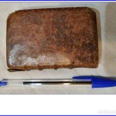Libros antiguos: AÑO 1762: IMITACIÓN DE CRISTO. LIBRO EN MINIATURA DEL SIGLO XVIII CON PÁGINAS MANUSCRITA DE LA ÉPOCA. Lote 152365890