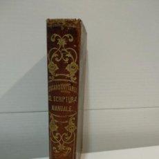 Libros antiguos: CONCORDATIARUM SS SCRIPTURAE MANUALE. Lote 152391806