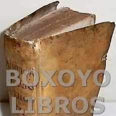 Libros antiguos: ÁGREDA, SOR MARÍA DE JESÚS. MYSTICA CIUDAD DE DIOS. TERCERA PARTE, LIBRO SÉPTIMO. Lote 132443407
