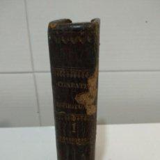 Libros antiguos: LIBRO SOBRE COMBATE ESPIRITUAL PIEL SIGLO XVIII. Lote 152464430