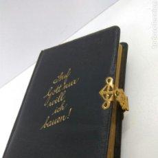 Libros antiguos: MISAL ALEMAN AÑO 1903 GEFANGBUCH. Lote 152523574