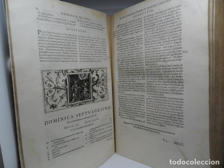 BIBLIA NATALIS, ADNOTATIONES ET MEDITATIONES IN EVANGELIA, JERÓNIMO NADAL, AMBERES, 1595, 2ª EDICIÓN (Libros Antiguos, Raros y Curiosos - Religión)