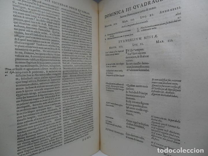 Libros antiguos: Biblia Natalis, Adnotationes et meditationes in Evangelia, Jerónimo Nadal, Amberes, 1595, 2ª edición - Foto 3 - 152792786