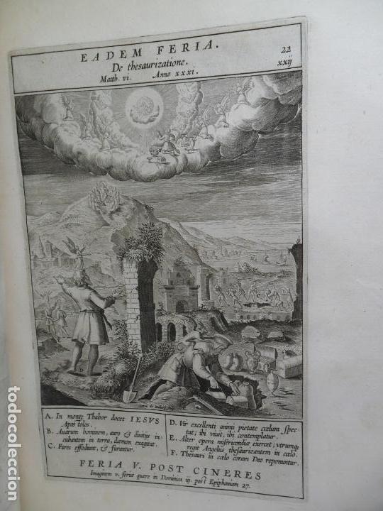 Libros antiguos: Biblia Natalis, Adnotationes et meditationes in Evangelia, Jerónimo Nadal, Amberes, 1595, 2ª edición - Foto 16 - 152792786