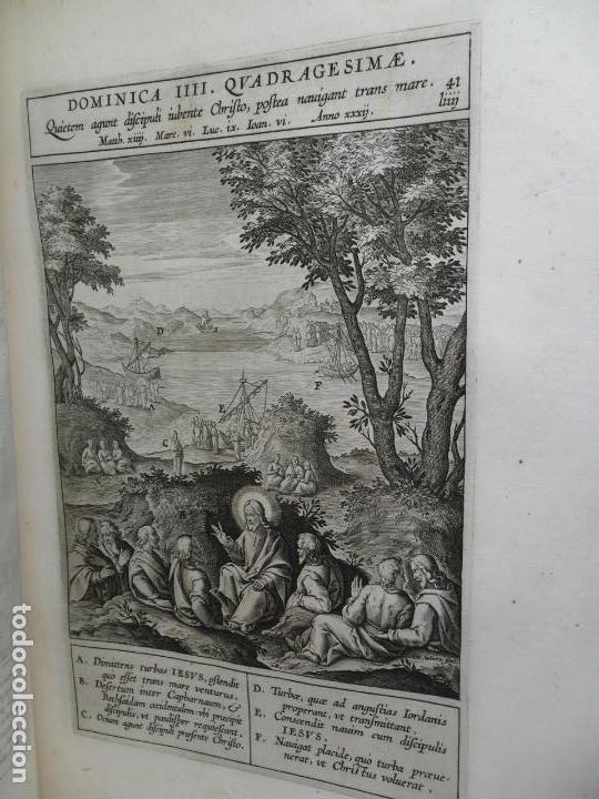 Libros antiguos: Biblia Natalis, Adnotationes et meditationes in Evangelia, Jerónimo Nadal, Amberes, 1595, 2ª edición - Foto 17 - 152792786