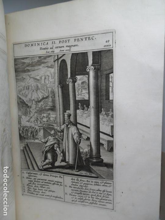 Libros antiguos: Biblia Natalis, Adnotationes et meditationes in Evangelia, Jerónimo Nadal, Amberes, 1595, 2ª edición - Foto 18 - 152792786