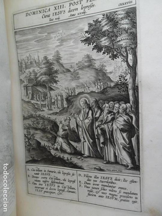 Libros antiguos: Biblia Natalis, Adnotationes et meditationes in Evangelia, Jerónimo Nadal, Amberes, 1595, 2ª edición - Foto 19 - 152792786