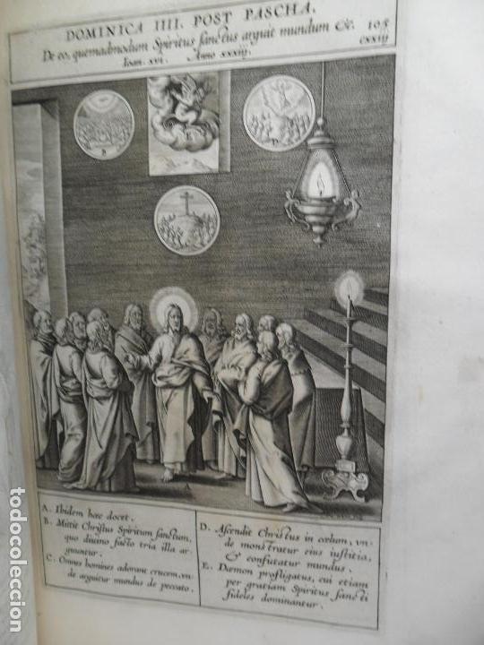 Libros antiguos: Biblia Natalis, Adnotationes et meditationes in Evangelia, Jerónimo Nadal, Amberes, 1595, 2ª edición - Foto 20 - 152792786