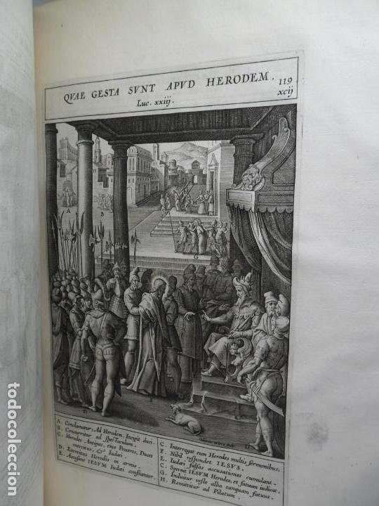 Libros antiguos: Biblia Natalis, Adnotationes et meditationes in Evangelia, Jerónimo Nadal, Amberes, 1595, 2ª edición - Foto 21 - 152792786