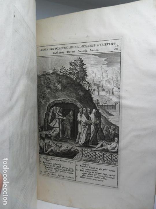 Libros antiguos: Biblia Natalis, Adnotationes et meditationes in Evangelia, Jerónimo Nadal, Amberes, 1595, 2ª edición - Foto 22 - 152792786