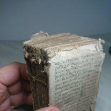 Libros antiguos: LIBRO RELIGIOSO SIGLO ¿XVIII? FOMENT DE LA PIETAT - LEER DESCRIPCIÓN. Lote 153739581