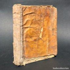 Libros antiguos: 1785 CANTO GREGORIANO - ARTE DE CANTO-LLANO Y ÓRGANO - PERGAMINO - MÚSICA - TOLEDO. Lote 154207630