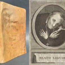 Libros antiguos: 1822 - LAS GLORIAS DE MARIA - EN CATALÁN - MANRESA - GRACIAS DE LA MARE DE DEU - PERGAMINO. Lote 154390538