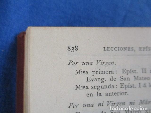 Libros antiguos: NUEVO TESTAMENTO DE NUESTRO SEÑOR JESUCRISTO - FÉLIX TORRES AMAT - 1922 - Foto 13 - 154453074