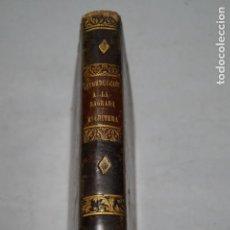 Livres anciens: INTRODUCCIÓN A LA SAGRADA ESCRITURA. BERNARDO LAMY. 1846. Lote 154756782