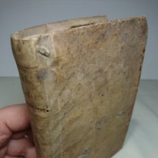 Libros antiguos: ORATORIA SACRA: SEU MODUS CONCIONANDI, DIDACCO STELLA, 1772, PERGAMINO. Lote 154845012