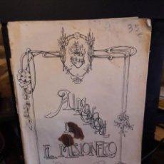 Libros antiguos: ALMANAQUE DE EL MISIONERO. Lote 154896646