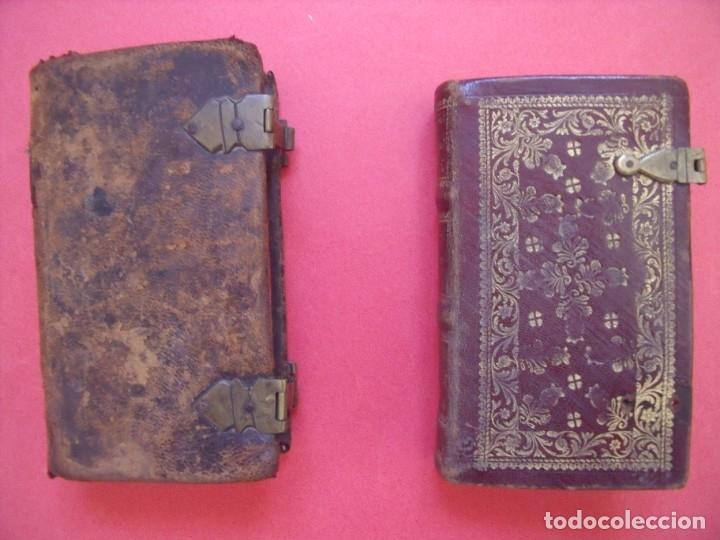 Libros antiguos: OFICIO DE LA SANTISIMA VIRGEN MARIA.-LIBROS.-RELIGION.-GRABADOS.-CONCILIO DE TRENTO.-AÑOS 1774-1805. - Foto 2 - 155015118