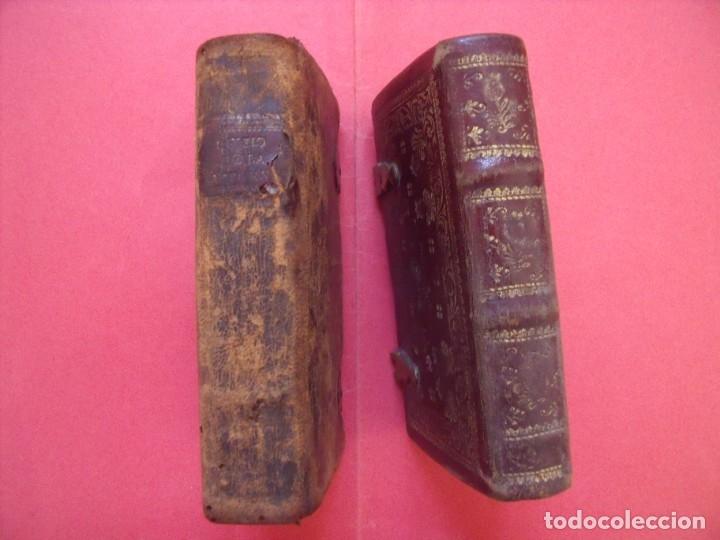 Libros antiguos: OFICIO DE LA SANTISIMA VIRGEN MARIA.-LIBROS.-RELIGION.-GRABADOS.-CONCILIO DE TRENTO.-AÑOS 1774-1805. - Foto 3 - 155015118