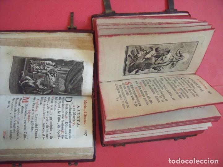 Libros antiguos: OFICIO DE LA SANTISIMA VIRGEN MARIA.-LIBROS.-RELIGION.-GRABADOS.-CONCILIO DE TRENTO.-AÑOS 1774-1805. - Foto 5 - 155015118