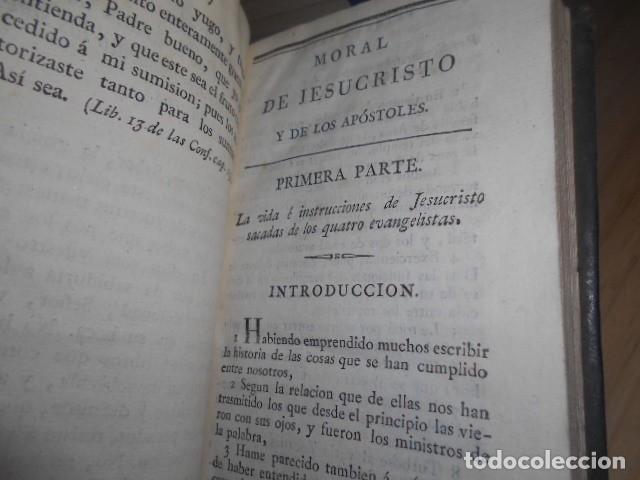 Libros antiguos: 1815 / MORAL DE JESUCRISTO Y DE LOS APOSTOLES,TOMADA DE LOS LIBROS DIVINOS DEL NUEVO TESTAMENTO - Foto 7 - 155015526
